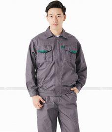 Dong phuc cong nhan GLU CN662 đồng phục công nhân