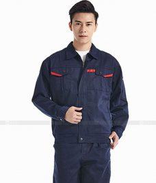 Dong phuc cong nhan GLU CN663 đồng phục công nhân