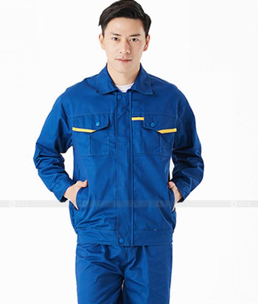 Dong phuc cong nhan GLU CN664