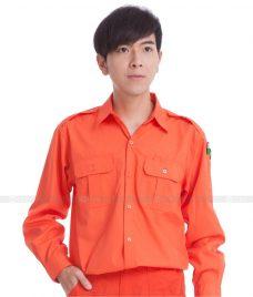 Dong phuc cong nhan GLU CN666 đồng phục công nhân