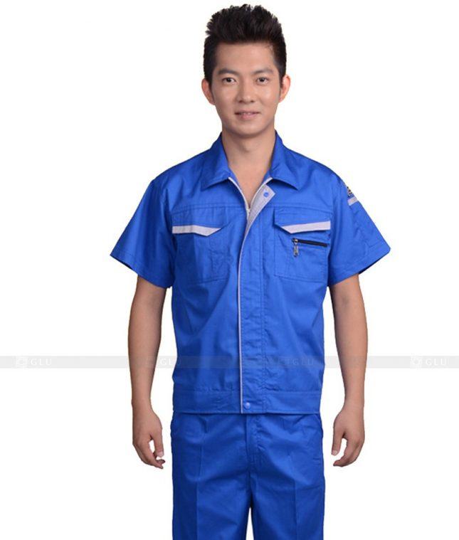 Dong phuc cong nhan GLU CN668 mẫu áo công nhân