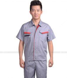 Dong phuc cong nhan GLU CN669 đồng phục công nhân