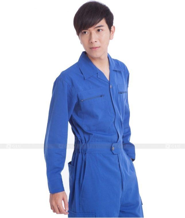 Dong phuc cong nhan GLU CN700 mẫu áo công nhân