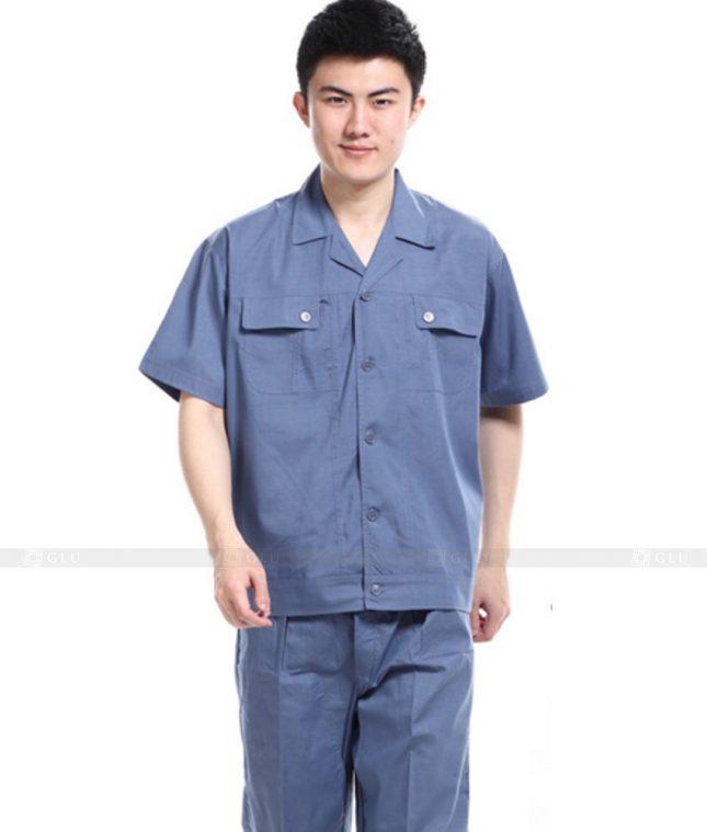 Dong phuc cong nhan GLU CN702 đồng phục công nhân kĩ thuật