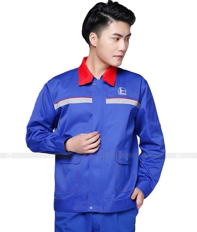 Dong phuc cong nhan GLU CN704 đồng phục công nhân kĩ thuật