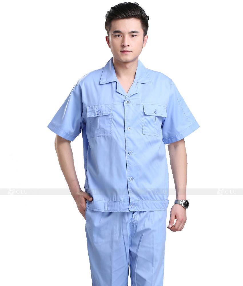 Dong phuc cong nhan GLU CN711