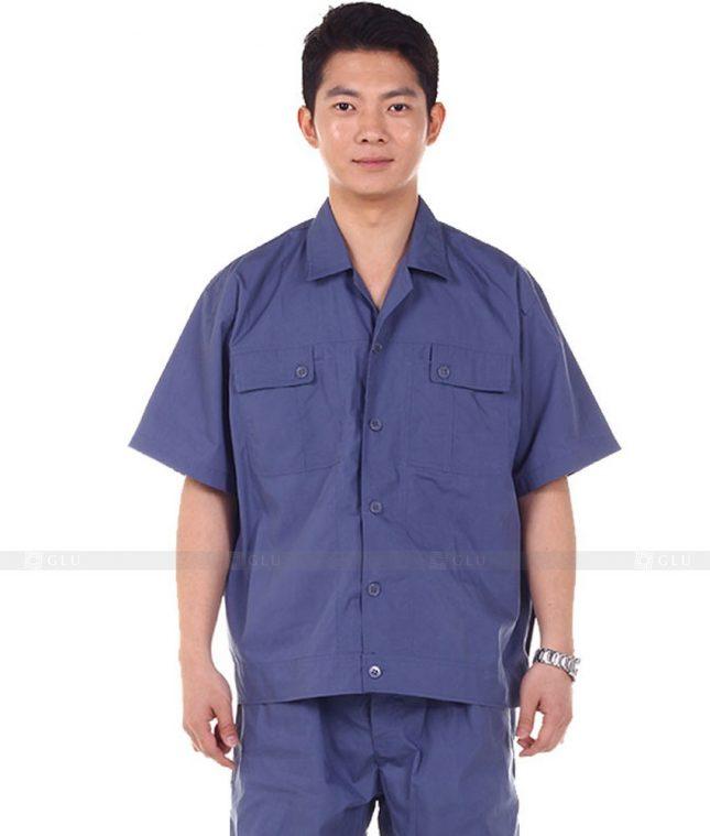 Dong phuc cong nhan GLU CN717 đồng phục công nhân kĩ thuật