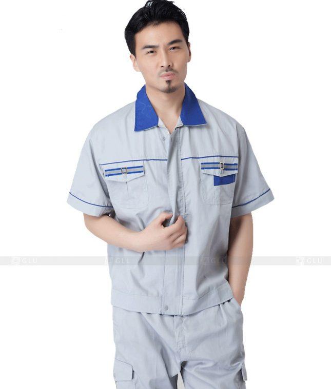 Dong phuc cong nhan GLU CN723 đồng phục công nhân kĩ thuật