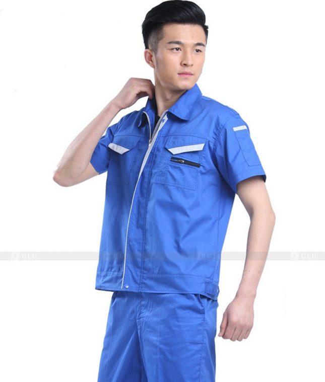 Dong phuc cong nhan GLU CN727 đồng phục công nhân kĩ thuật