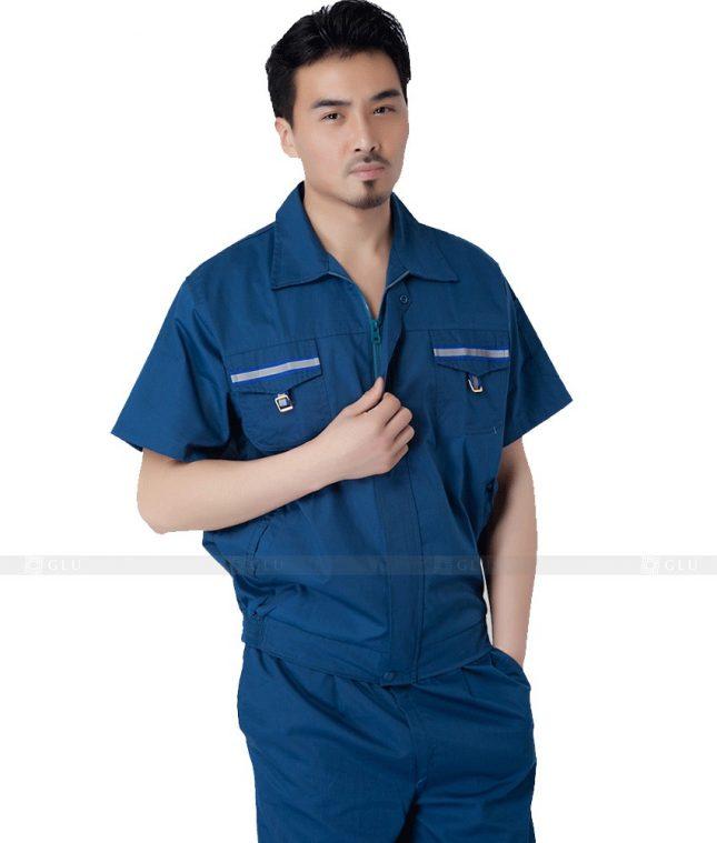 Dong phuc cong nhan GLU CN730 đồng phục công nhân kĩ thuật