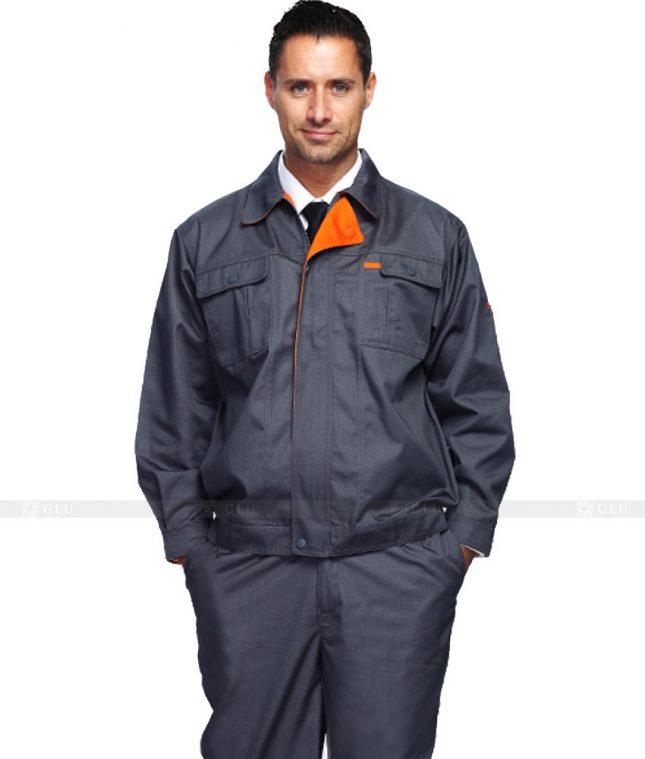 Dong phuc cong nhan GLU CN733 2 mẫu áo công nhân