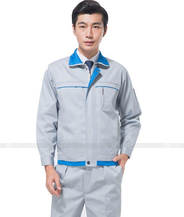 Dong phuc cong nhan GLU CN734 đồng phục công nhân kĩ thuật