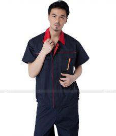 Dong phuc cong nhan GLU CN743 đồng phục công nhân