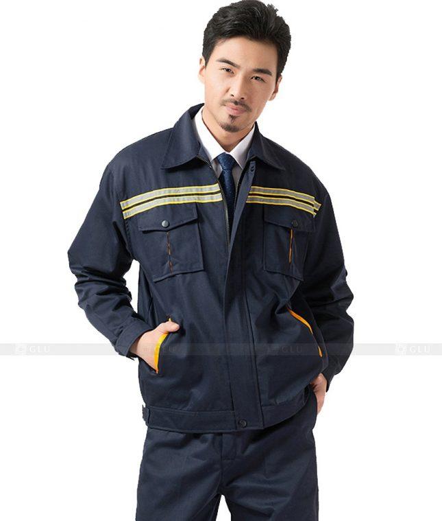 Dong phuc cong nhan GLU CN749 đồng phục công nhân kĩ thuật