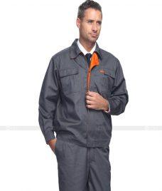 Dong phuc cong nhan GLU CN750 đồng phục công nhân