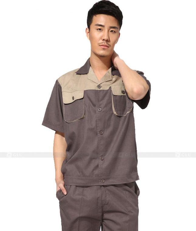 Dong phuc cong nhan GLU CN753 đồng phục công nhân kĩ thuật