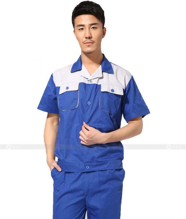 Dong phuc cong nhan GLU CN754 đồng phục công nhân kĩ thuật