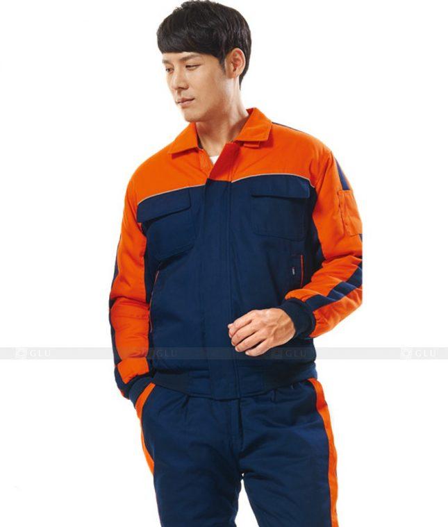 Dong phuc cong nhan GLU CN762 đồng phục công nhân kĩ thuật