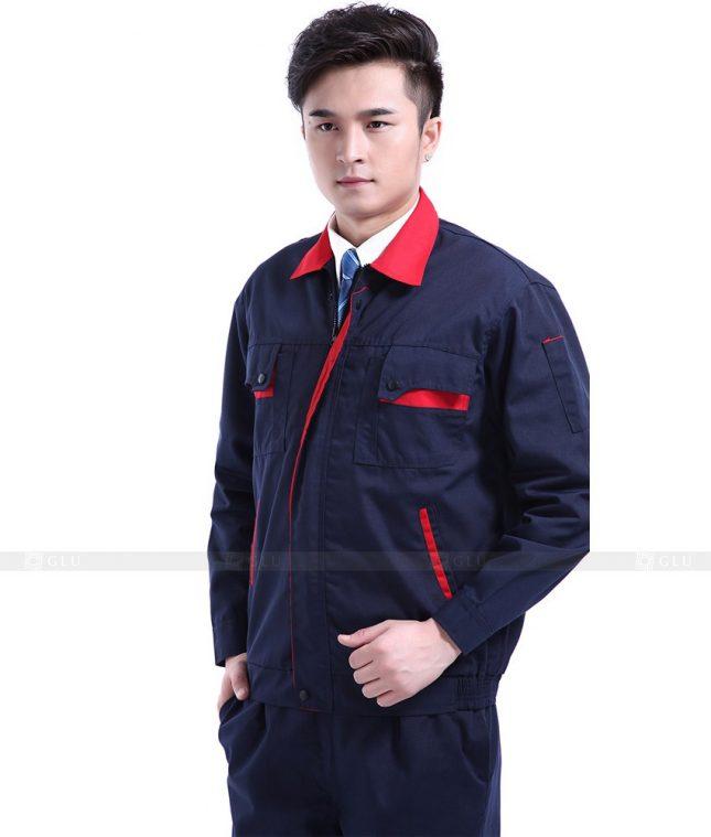 Dong phuc cong nhan GLU CN764 mẫu áo công nhân