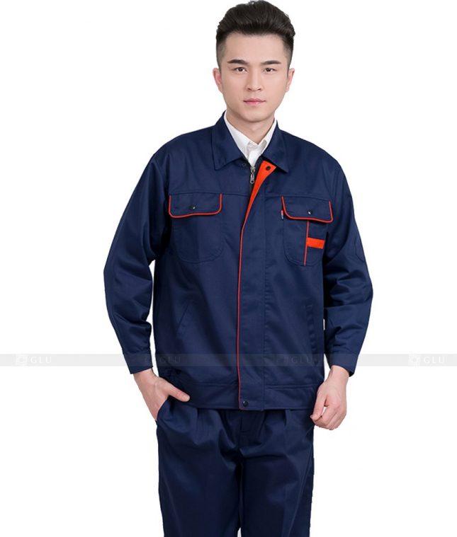 Dong phuc cong nhan GLU CN767 mẫu áo công nhân