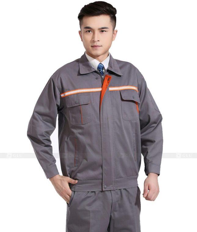 Dong phuc cong nhan GLU CN768 mẫu áo công nhân