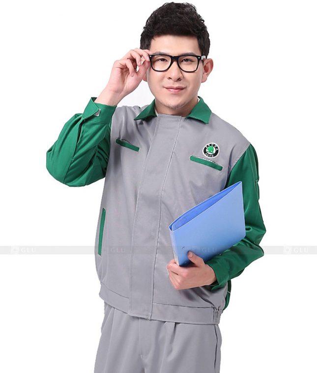 Dong phuc cong nhan GLU CN769 mẫu áo công nhân