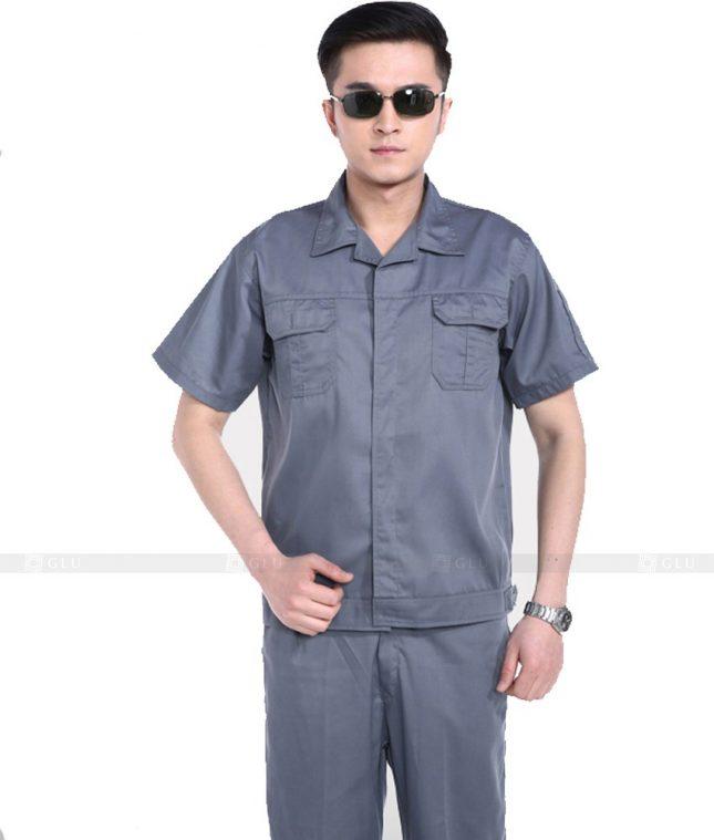 Dong phuc cong nhan GLU CN770 mẫu áo công nhân