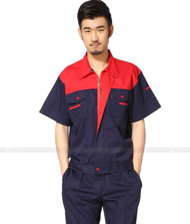 Dong phuc cong nhan GLU CN771 mẫu áo công nhân