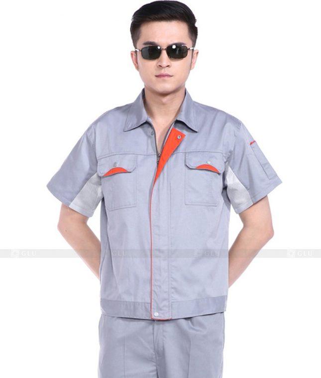 Dong phuc cong nhan GLU CN772 mẫu áo công nhân