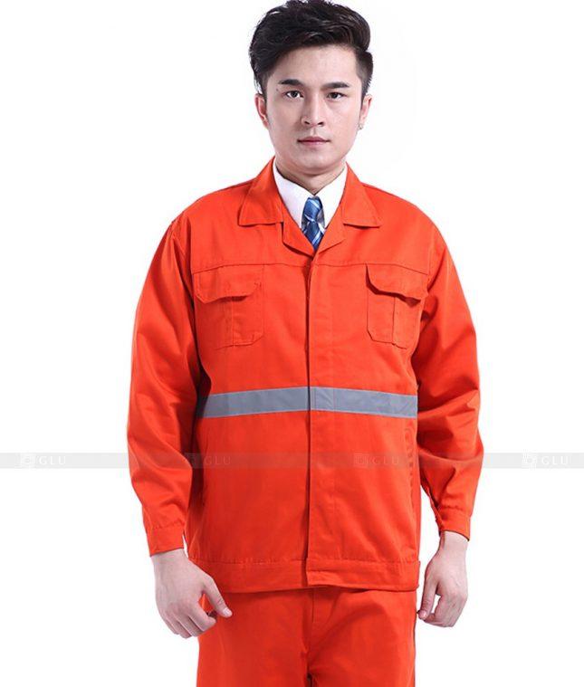 Dong phuc cong nhan GLU CN773 mẫu áo công nhân