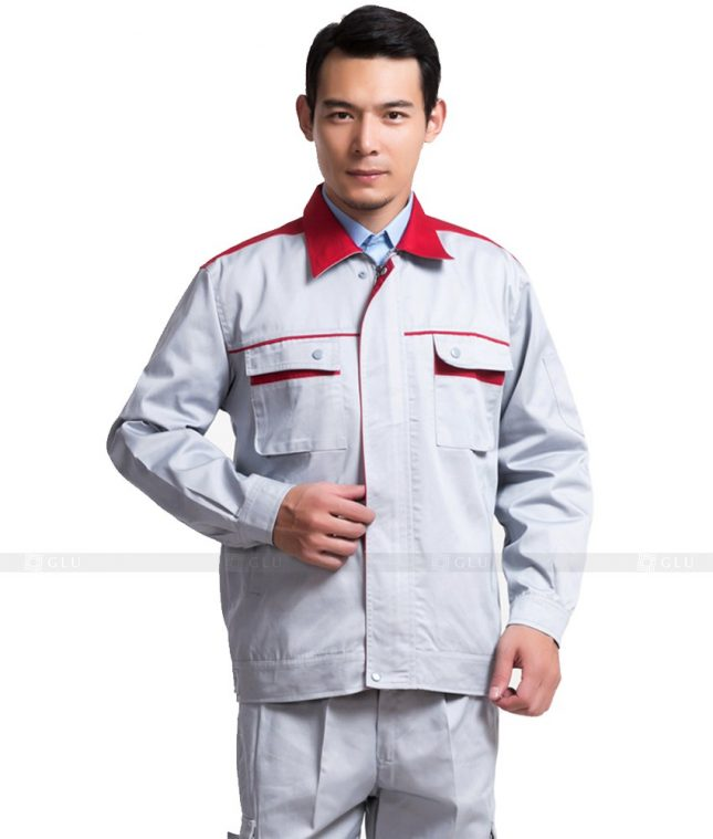 Dong phuc cong nhan GLU CN774 mẫu áo công nhân