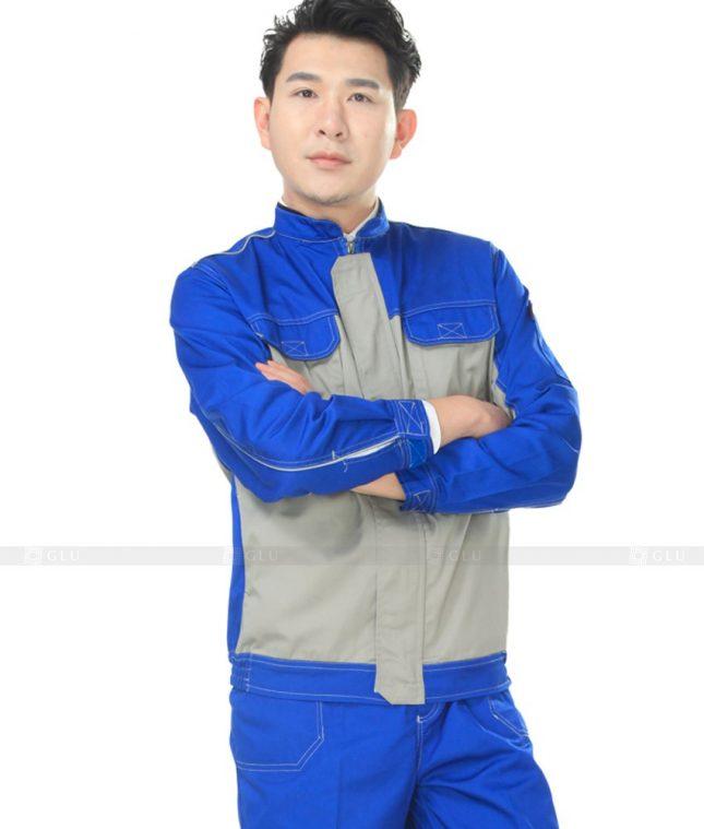 Dong phuc cong nhan GLU CN775 mẫu áo công nhân
