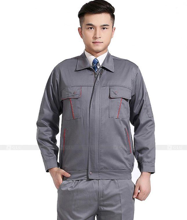 Dong phuc cong nhan GLU CN776 mẫu áo công nhân