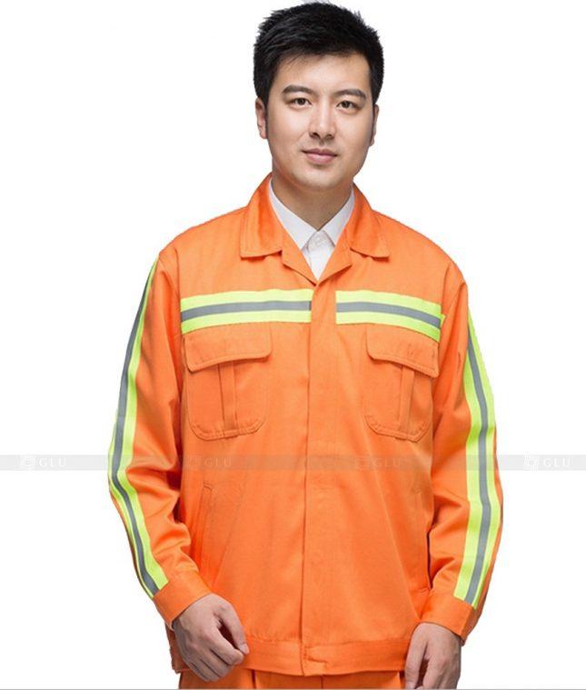 Dong phuc cong nhan GLU CN778 mẫu áo công nhân