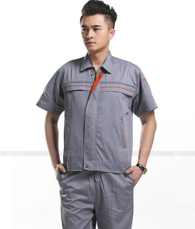 Dong phuc cong nhan GLU CN782 mẫu áo công nhân