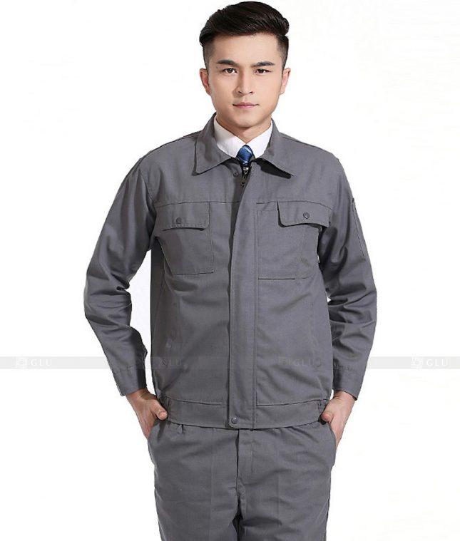 Dong phuc cong nhan GLU CN784 mẫu áo công nhân