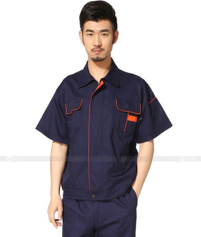 Dong phuc cong nhan GLU CN785 mẫu áo công nhân