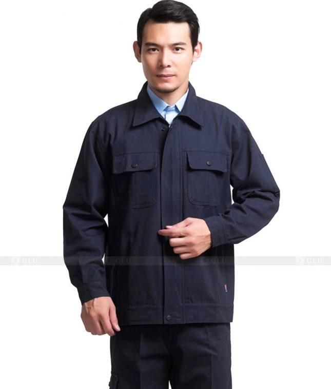 Dong phuc cong nhan GLU CN786 mẫu áo công nhân