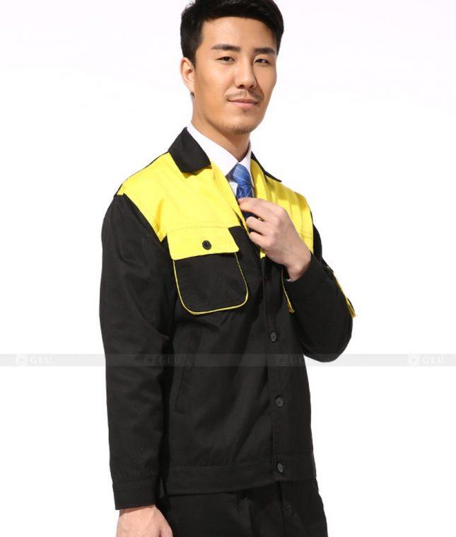 Dong phuc cong nhan GLU CN787 mẫu áo công nhân