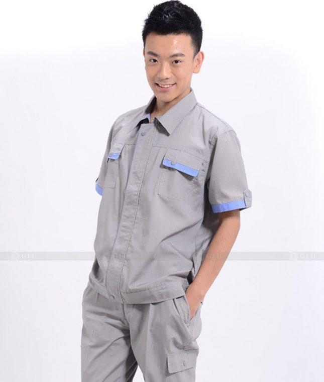 Dong phuc cong nhan GLU CN788 mẫu áo công nhân