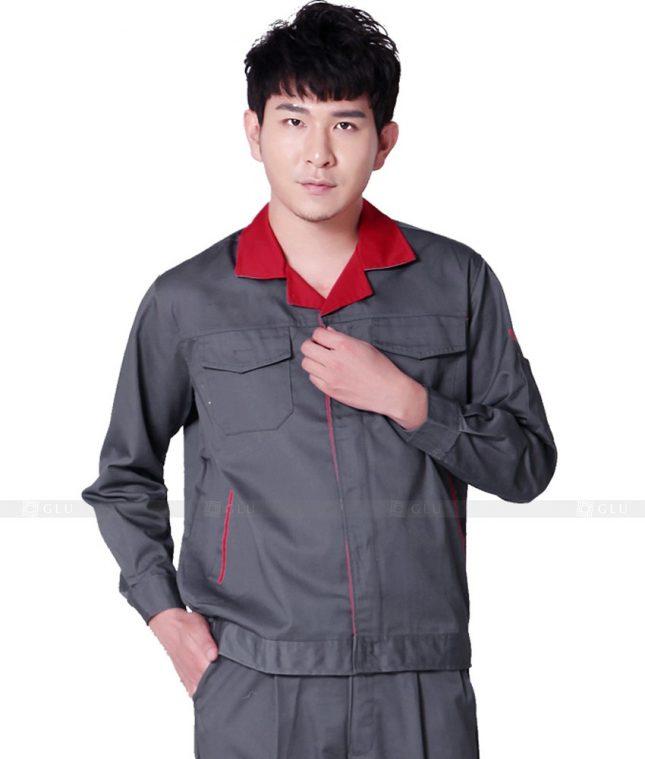 Dong phuc cong nhan GLU CN790 mẫu áo công nhân
