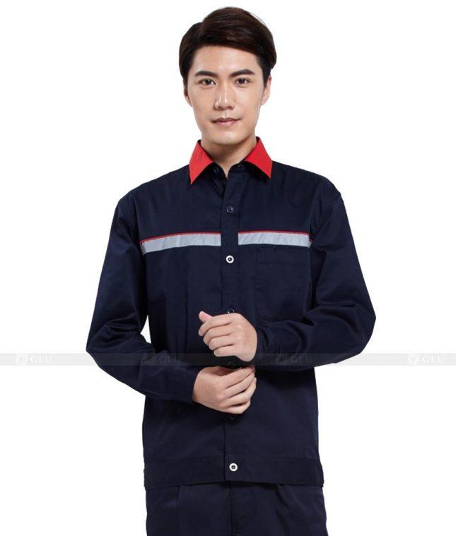 Dong phuc cong nhan GLU CN793 mẫu áo công nhân