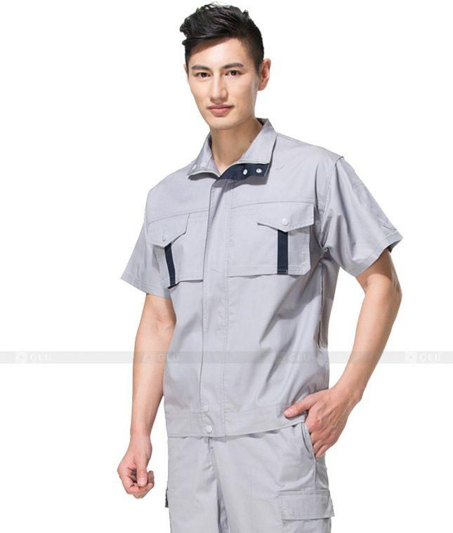 Dong phuc cong nhan GLU CN794 mẫu áo công nhân