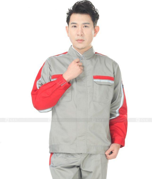 Dong phuc cong nhan GLU CN797 mẫu áo công nhân