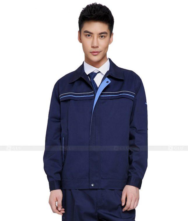 Dong phuc cong nhan GLU CN800 mẫu áo công nhân