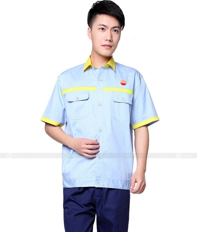 Dong phuc cong nhan GLU CN801 đồng phục công nhân kĩ thuật