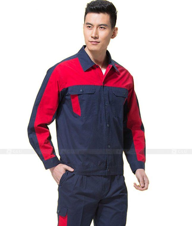Dong phuc cong nhan GLU CN806 mẫu áo công nhân