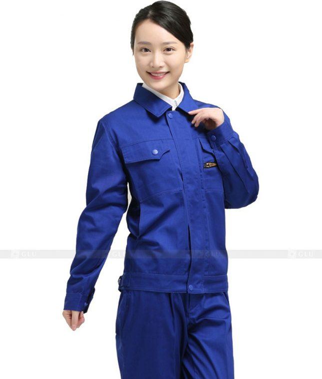 Dong phuc cong nhan GLU CN807 mẫu áo công nhân
