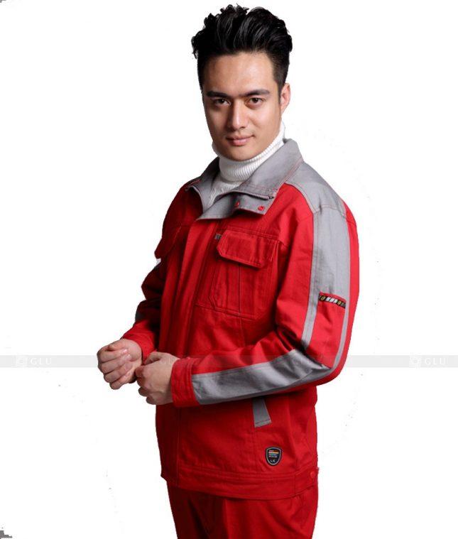 Dong phuc cong nhan GLU CN809 mẫu áo công nhân