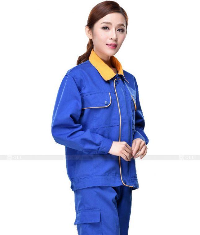 Dong phuc cong nhan GLU CN810 mẫu áo công nhân